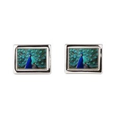 Peacock Plummage Cufflinks
