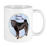 Shar Pei Portrait Coffee Mug