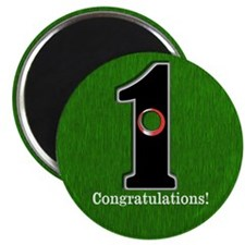 Customized Lucky Golf Hole in One Magnet