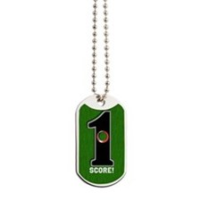 Customized Lucky Golf Hole in One Dog Tags