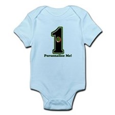 Customized Lucky Golf Hole in One Infant Bodysuit