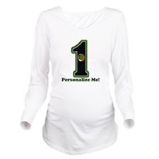Customized Lucky Gol Long Sleeve Maternity T-Shirt