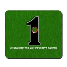 Customized Lucky Golf Hole in One Mousepad
