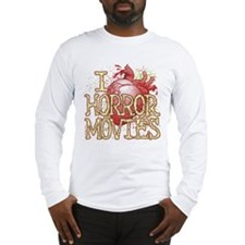 I Heart Horror Movies Long Sleeve T-Shirt