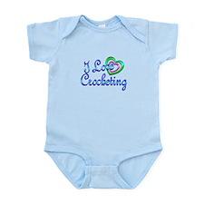 I Love Crocheting Infant Bodysuit