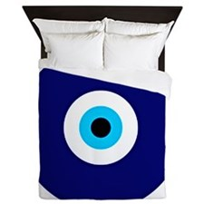 Evil Eye Charm  Queen Duvet