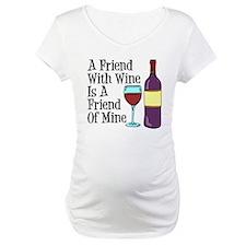 Friend With Wine Friend Of Mine Shirt
