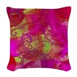 Painting Woven Throw Pillow
