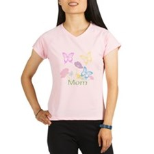 Personalize mom Flowers & Performance Dry T-Shirt