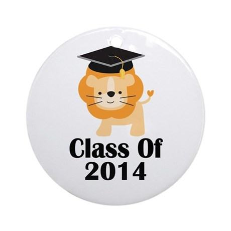Class of 2014 Gift Ornament (Round)