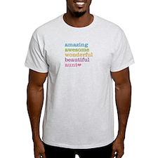 Amazing Aunt T-Shirt