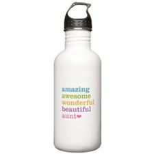 Amazing Aunt Sports Water Bottle