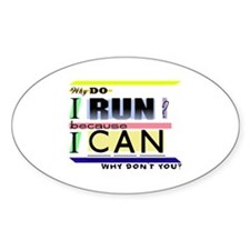Why Do I Run? Decal