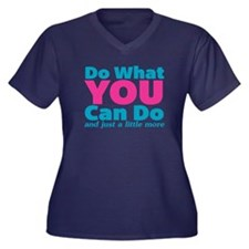 Do What You Can And Just A Plus Size T-Shirt