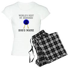 Worlds Best St. Bernard (Custom) Pajamas