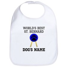 Worlds Best St. Bernard (Custom) Bib