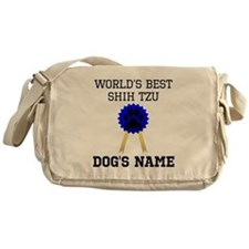 Worlds Best Shih Tzu (Custom) Messenger Bag