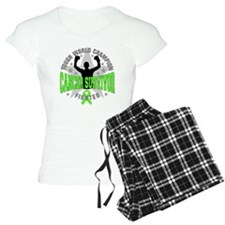 Non-Hodgkins Lymphoma Tough Survivor Pajamas