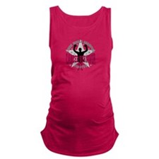 Multiple Myeloma Tough Survivor Maternity Tank Top