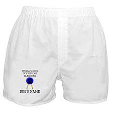 Worlds Best Norwegian Elkhound (Custom) Boxer Shor