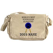 Worlds Best Norwegian Elkhound (Custom) Messenger