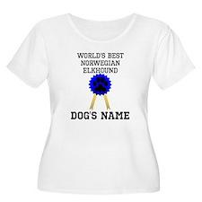 Worlds Best Norwegian Elkhound (Custom) Plus Size