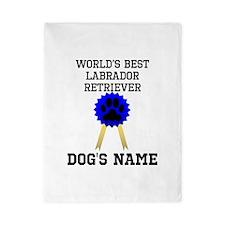Worlds Best Labrador Retriever (Custom) Twin Duvet