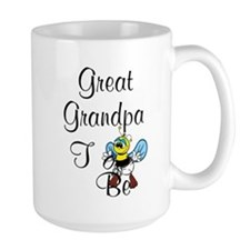 Playful Great Grandpa To Bee Mugs