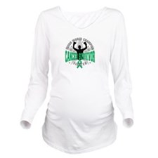 Liver Cancer Tough Survivor Long Sleeve Maternity