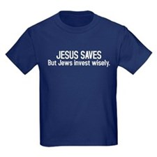 Jesus saves but Jews invest wisely T