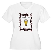 Beer Wanted Plus Size T-Shirt