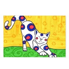 Yoga Cat Postcards (Package of 8)