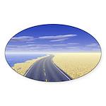 Fine Day Sticker (Oval 10 pk)