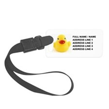 Yellow Rubber Duck Luggage Tag