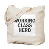 Working Class Hero Tote Bag