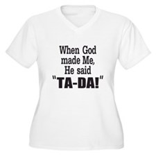 Ta Da Plus Size T-Shirt