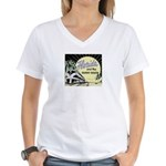 Sunny Florida Women's V-Neck T-Shirt