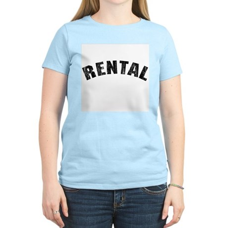 Rental (Vintage 1968) Womens Light T-Shirt