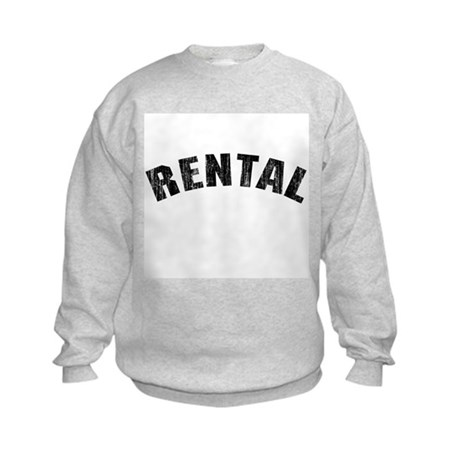 Rental (Vintage 1968) Kids Sweatshirt