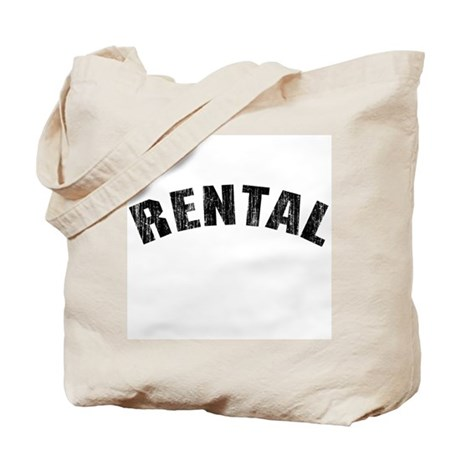 Rental (Vintage 1968) Tote Bag