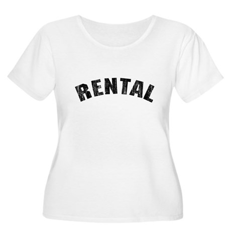 Rental (Vintage 1968) Womens Plus Size Scoop Neck