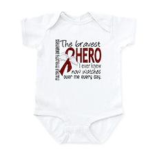 Multiple Myeloma Bravest Hero Infant Bodysuit
