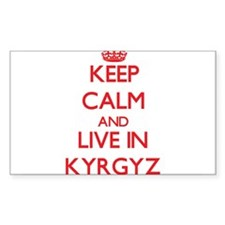 Keep Calm and live in Kyrgyz Decal
