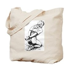 All Tied Up Tote Bag