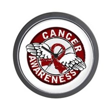 Multiple Myeloma Awareness 14 Wall Clock