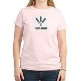 I Eat Carbs (Grain) Women's Pink T-Shirt