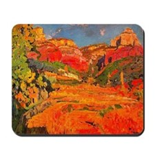 Joaquin Mir Red Valley Mousepad