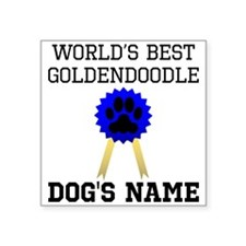 Worlds Best Goldendoodle (Custom) Sticker