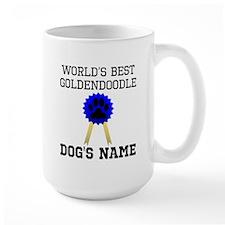 Worlds Best Goldendoodle (Custom) Mugs