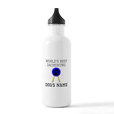 Worlds Best Dachshund (Custom) Water Bottle